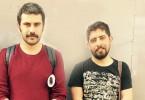 Bilgi Üniversitesi öğrencileri Çağrı Kurt (sağda) ve Hişyar Aydın'nın tutuklanma gerekçesiyle ilgili ailelerine ve avukatlarına bilgi verilmiyor