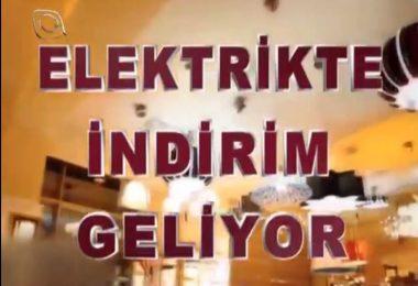 """Flash TV'nin """"Elektrikte İndirim Kampanyası"""" tanıtım filminden"""